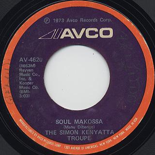 Simon Kenyatta Troupe / Soul Makossa