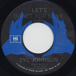 Syl Johnson / Let's Dance For Love