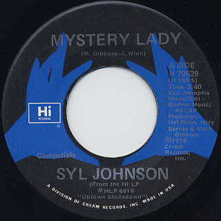 Syl Johnson / Let's Dance For Love back
