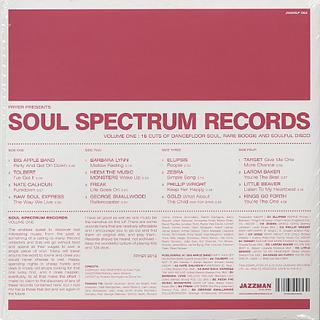 V.A. / Soul Spectrum Records Vol.1 back