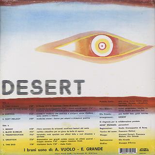Vuolo & Grande / Desert back