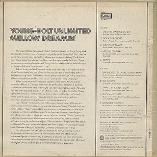 Young-Holt Unlimited / Mellow Dreamin' back
