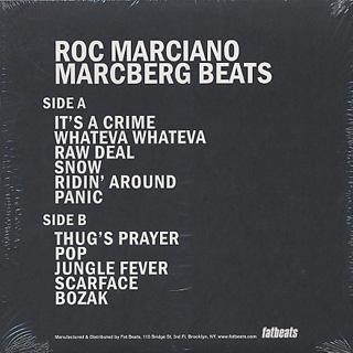 Roc Marciano / Marcberg Beats back