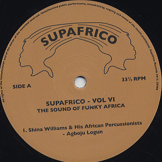 V.A. / Supafrico 6 The Sound Of Funky