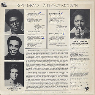 Alphonse Mouzon / By All Means back