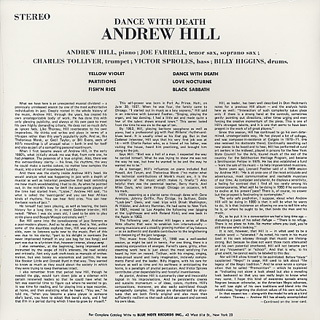 Andrew Hill / Dance With Death back