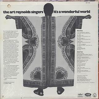 Art Reynolds Singers / It's A Wonderful World back