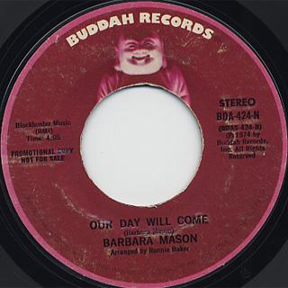 Barbara Mason / Our Day Will Come