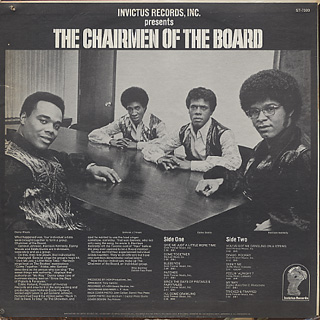 Chairmen Of The Board / Give Me Just A Little More Time back