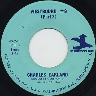 Charles Earland / Westbound #9 back