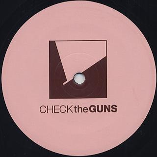 Check The Guns / Tape Edits 005 back