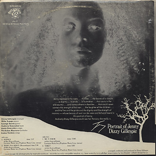 Dizzy Gillespie / Portrait Of Jenny back