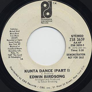 Edwin Birdsong / Kunta Dance