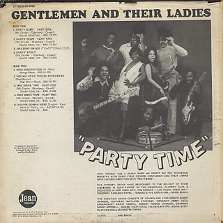 Gentlemen And Their Ladies / Party Time back