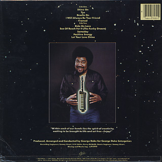 George Duke / Dream On back
