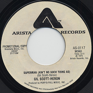 Gil Scott Heron / Superman back