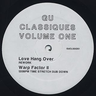 Glenn Underground / Classiques Vol.1 back
