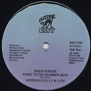 Herman kelly & Life / Dance To The Drummer Beat back