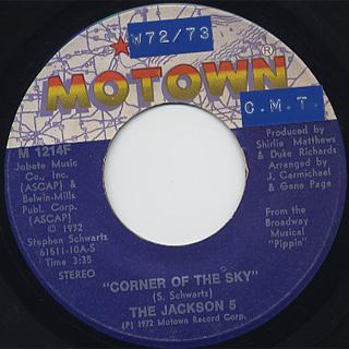Jackson 5 / Corner Of The Sky