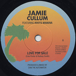 Jamie Cullum / Love For Sale back