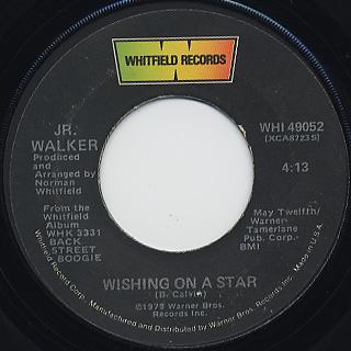 Jr. Walker / Wishing On A Star