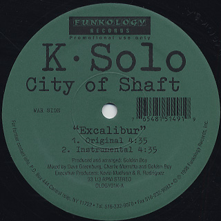 K-Solo / City Of Shaft