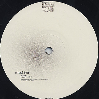 Mashine / Wake Up EP front