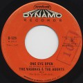 Maskman &#038; The Agents / One Eye Open c/w Yaw'll-1
