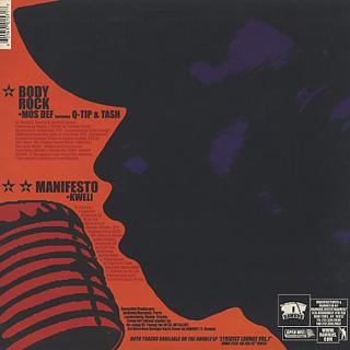 Mos Def Featuring Q-Tip & Tash / Body Rock back