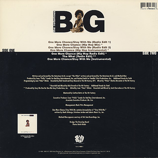 Notorious B.I.G. / One More Chance back
