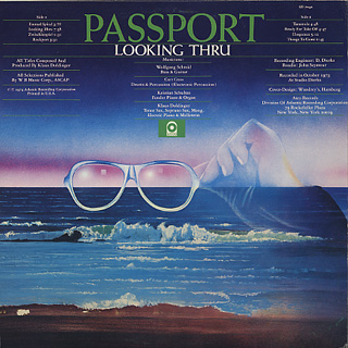 Passport / Looking Thru back
