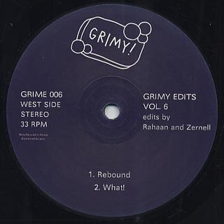 Rahaan, Zernell, Tim McAllister / Grimy Edits Vol.6