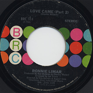 Ronnie Limar / Love Came back