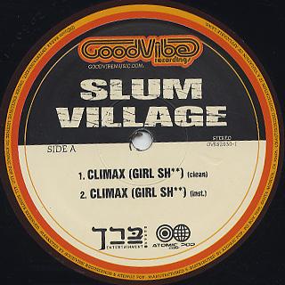Slum Village / Climax (Girl Sh**) back