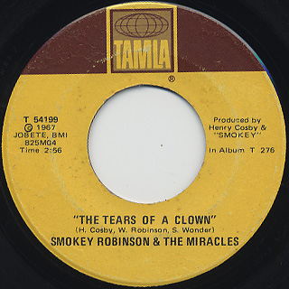Smokey Robinson And The Miracles / The Tears Of A Clown
