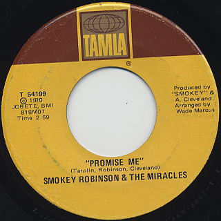Smokey Robinson And The Miracles / The Tears Of A Clown back