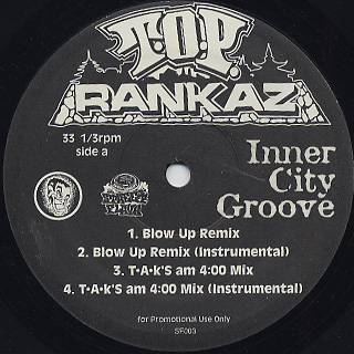 T.O.P. Rankaz / Inner City Groove (Remix)