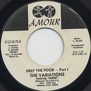 Variations / Help The Poor