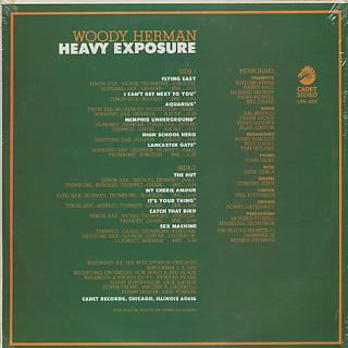 Woody Herman / Heavy Exposure back