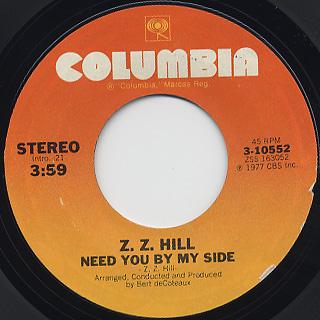 Z. Z. Hill / Love Is So Good When You're Stealing It back