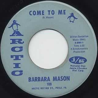 Barbara Mason / Sad, Sad Girl back