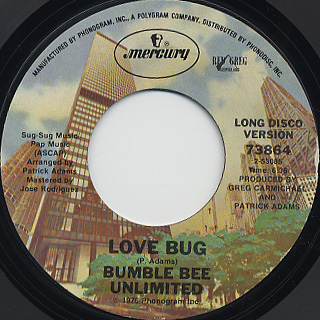 Bumble Bee Unlimited / Love Bug back