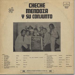 Cheche Mendoza Y Su Conjunto / !Sin Complejo.....! back
