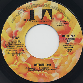 Dayton / Eyes On You back