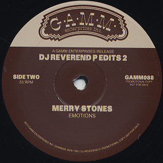 DJ Reverend P / Edits Pt.2 back