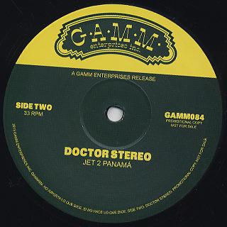 Doctor Stereo / No Importa Lo Que Dice.Si No Hace Lo Que Dice back