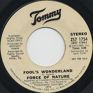 Force Of Nature / Fool's Wonderland
