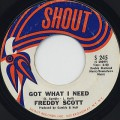 Freddy Scott  / Got What I Need