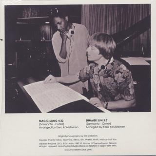Heikki Sarmanto & Jeannine Otis / Magic Song back