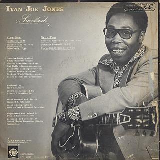 Ivan Boogaloo Joe Jones / Sweetback back